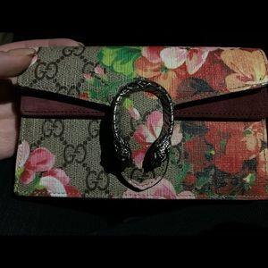 Dionysus GG Blooms super mini bag